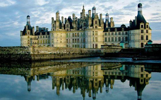 Фото бесплатно замок, вода, старинный