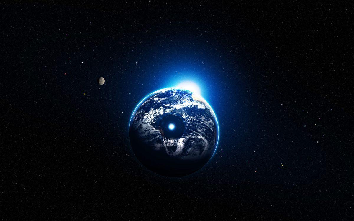 Фото бесплатно земля, небо, звезды, галактики, планеты, туман, объектив, свет, космос, космос