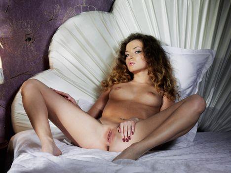 Фото бесплатно alyssa-a, киска, hot