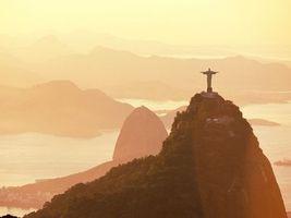 Бесплатные фото бразилия,статуя,холм,высоко,небо,море,город