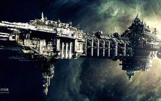 Фото бесплатно будущее, космос, город