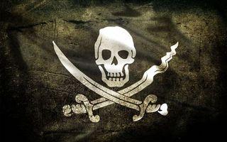 Бесплатные фото флаг,пираты,веселый,роджер,череп,сабли,разное