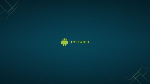 Бесплатные фото android,робот,синий,фон,hi-tech