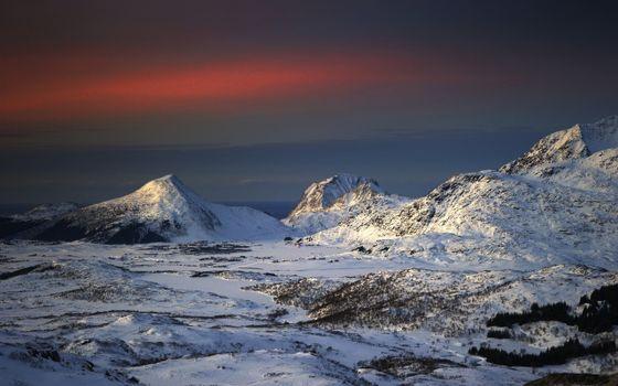 Фото бесплатно горы, вершина, склоны