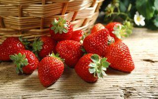 Бесплатные фото клубника,ягода,сладкая,спелая,красная,урожай,корзина