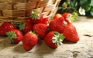 Фото бесплатно клубника, ягода, сладкая