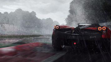Бесплатные фото need for speed,rivals,трасса,гонка,дождь,машина,марка