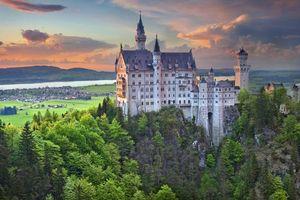 Бесплатные фото Neuschwanstein Castle,Bavaria,Germany,Замок Нойшванштайн,Бавария,Германия