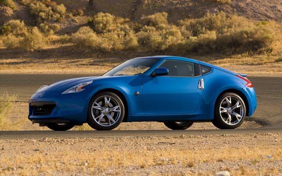Photo free Nissan, 350z, blue
