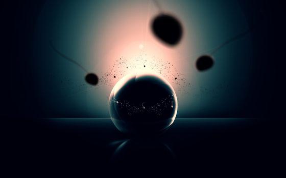 Заставки шар, круг, заставка