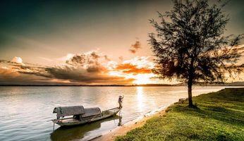 Фото бесплатно Винь, Вьетнам, река