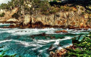 Заставки вода, волны, берег