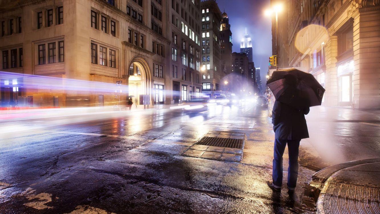 Фото бесплатно человек, парень, зонтик - на рабочий стол