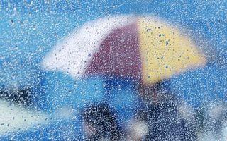 Фото бесплатно дождь, капли, зонт