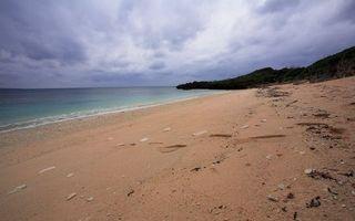 Фото бесплатно пляж, песок, следы