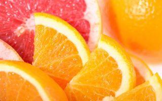 Фото бесплатно фрукты, дальки, апельсин