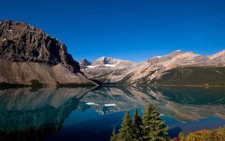 Бесплатные фото горы,камни,вода,деревья,кусты,небо,природа