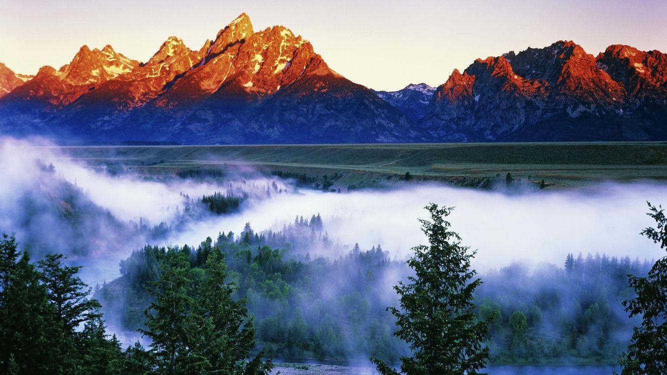 Фото бесплатно горы, вода, отражение, скалы, камни, небо, облака, природа, природа