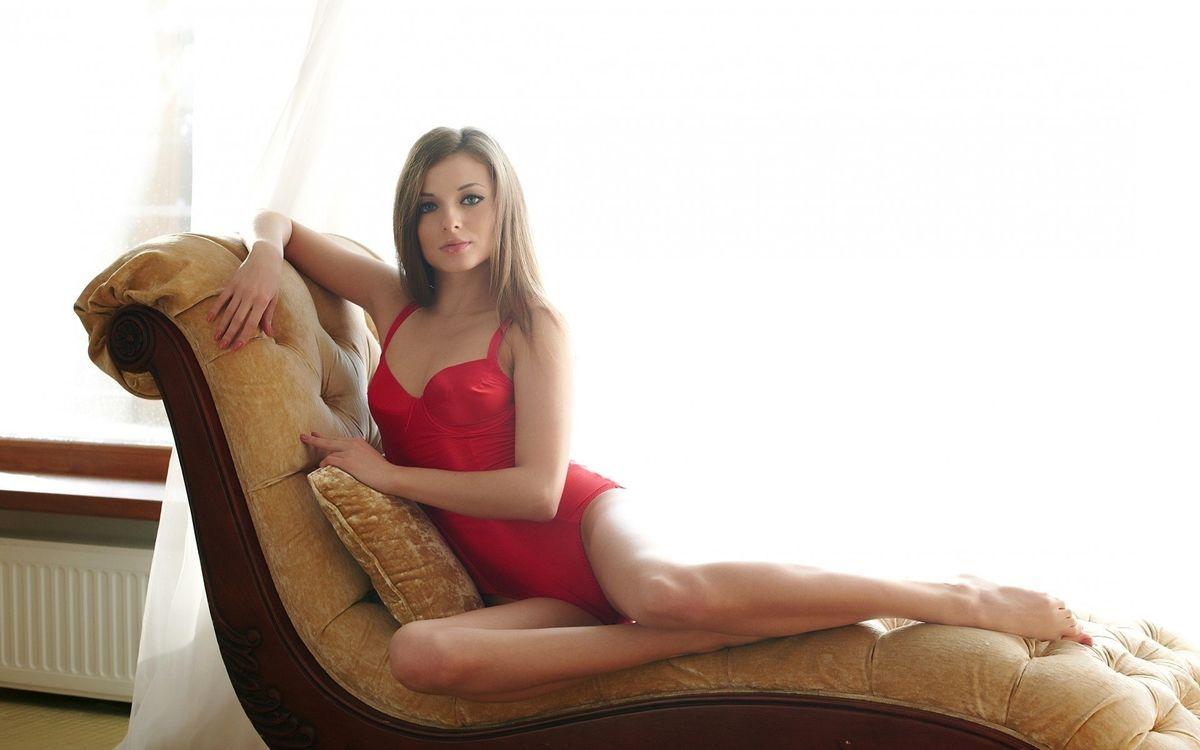 Фото бесплатно красотка, русая, купальник - на рабочий стол