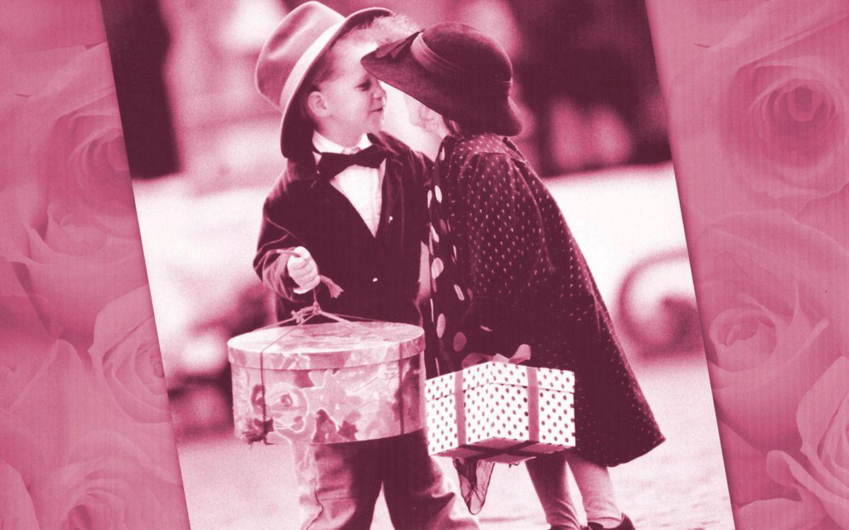 Фото бесплатно друзья, девушка, шляпа - на рабочий стол