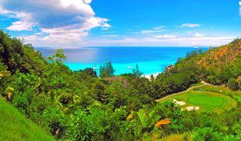 Фото бесплатно пейзаж, тропики, море