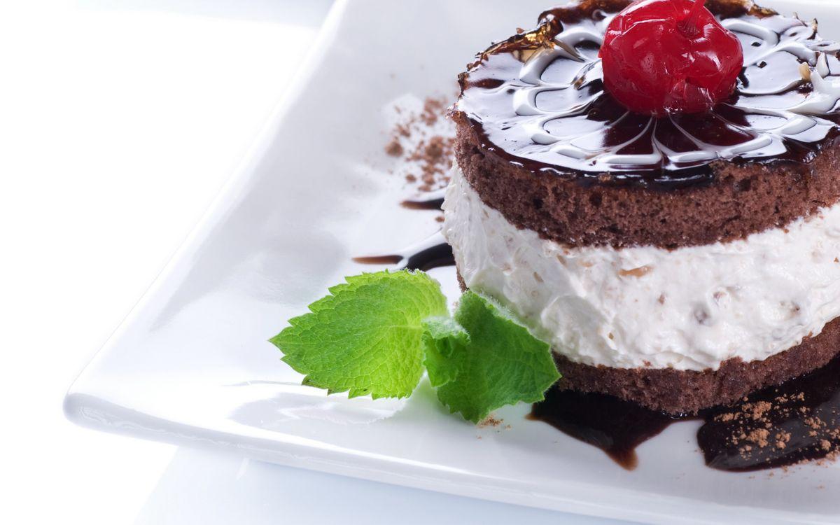 Фото бесплатно пирожное, десерт, шоколад - на рабочий стол