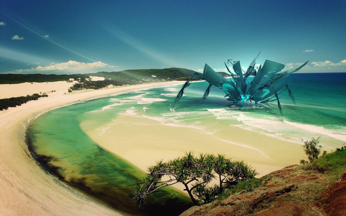 Фото бесплатно вода, синий, пейзаж - на рабочий стол