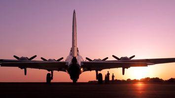 Бесплатные фото самолет,шасси,крылья,двигатели,кабина,люди,небо