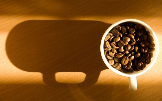 Фото бесплатно чашка, белая, кофе