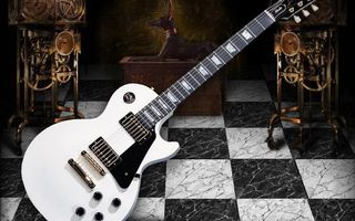 Заставки гитара, электронная, струны