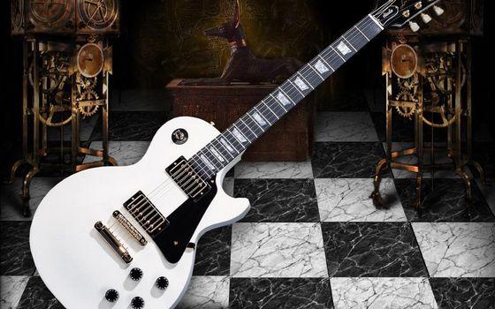 Photo free guitar, electronic, strings
