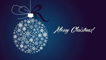 Бесплатные фото игрушка,круглая,рождество,надпись,вектор,снежинки,синий фон