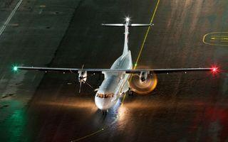 Фото бесплатно самолет, крылья, винты