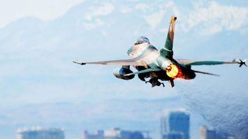 Бесплатные фото самолет, истребитель, шлейф, дым, след, двигатель, крылья