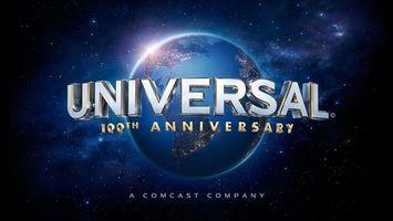 Фото бесплатно universal studios 100th anniversary logo, логотип, планета