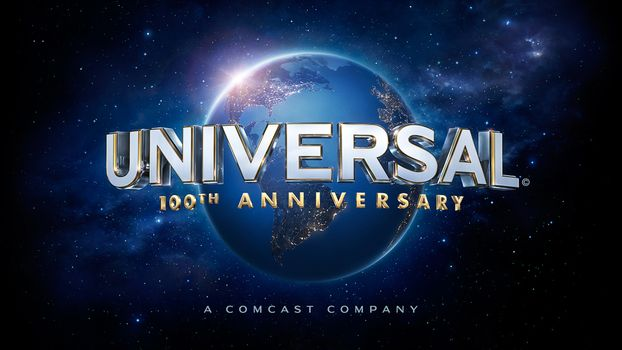 Photo free universal studios 100th anniversary logo, logo, planet