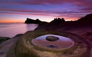 Фото бесплатно берег, пейзажи, вечер