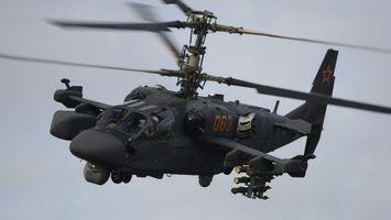 Фото бесплатно вертолет, военный, черный
