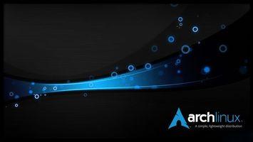 Бесплатные фото linux,archlinux,os,операционная система,ос,hi-tech