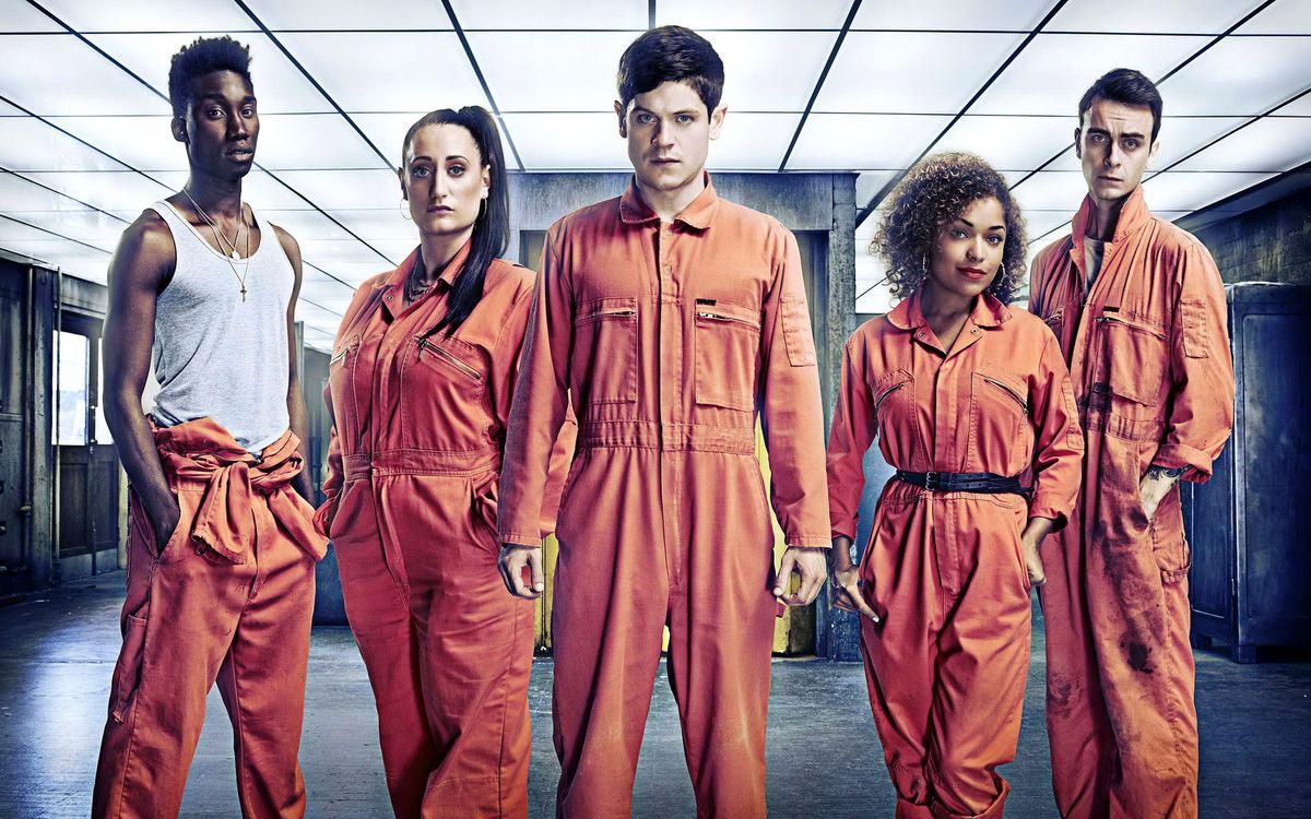 Фото бесплатно отбросы, misfits, джозеф гилган, 3 сезон, сериал, разное