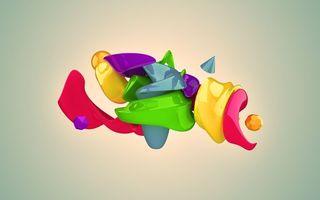 Фото бесплатно abstraction, фигуры, абстракция
