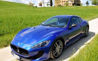 Бесплатные фото мазераті,синій,автомобиль,припаркован,у дома,машины,природа