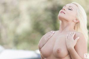 Фото бесплатно блондинка, красивая, грудь