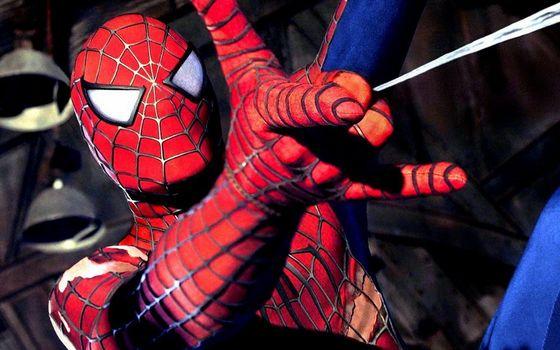 Фото бесплатно человек-паук, маска, глаза