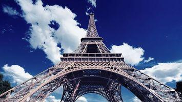 Заставки эйфелева, башня, лето
