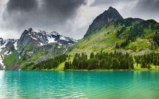 Фото бесплатно склоны, вершина, небо
