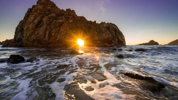 Фото бесплатно горы, скалы, берег