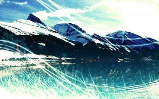 Фото бесплатно трава, облака, камни