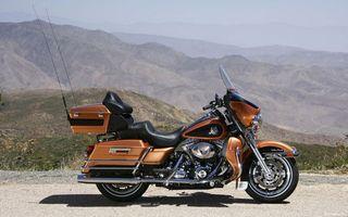 Бесплатные фото harley,горы,дорога,мотоциклы