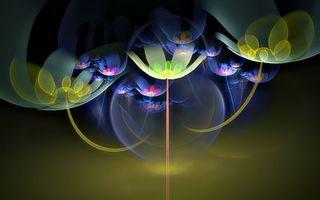 Обои красиво, необычно, пузыри, яркие, лучи, прозрачные, абстракции